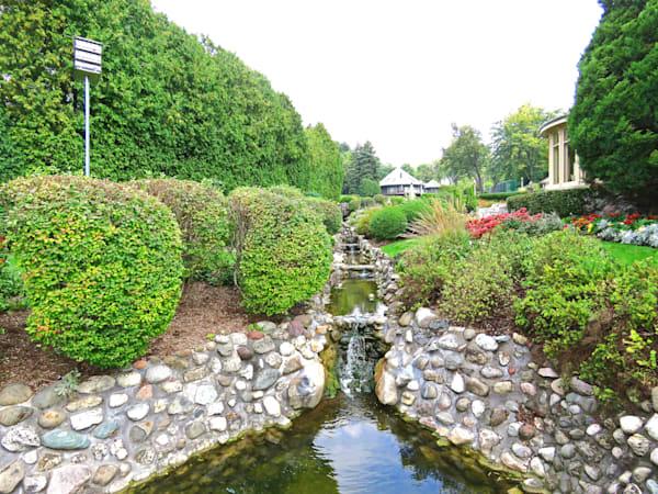 Geneva Lake Mansion Garden Photography Art | Lake LIfe Images