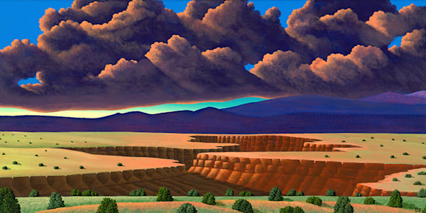 Rio Grande Gorge Art   Fine Art New Mexico