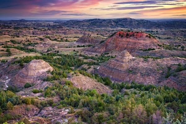 Painted Canyon at Dawn   Shop Photography by Rick Berk