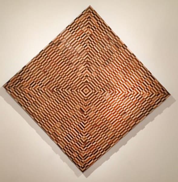 Opt Art Pyramid Art | D. Colabella Fine Art Gallery