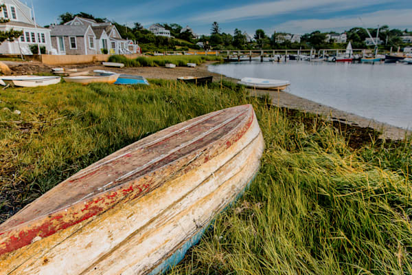 Old Wooden Boat Photography Art | The Colors of Chatham
