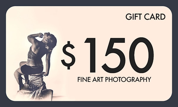 $150 Gift Card   Justin Mikkelsen Photography, LLC