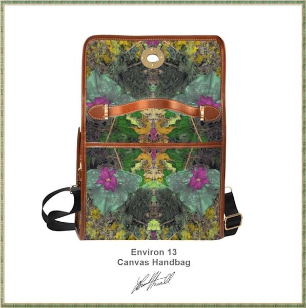Environ 13 Canvas Handbag