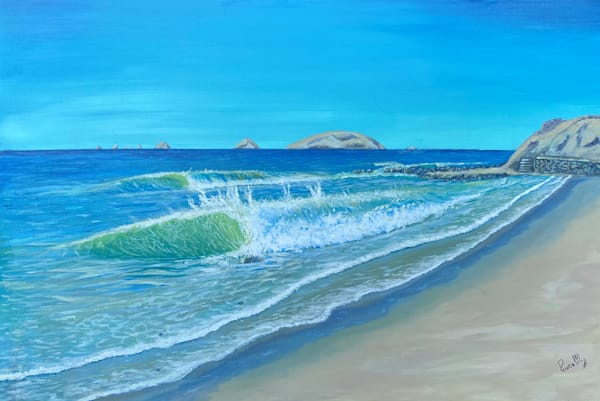 Caballeros Beach Art | Rowena Art Shop