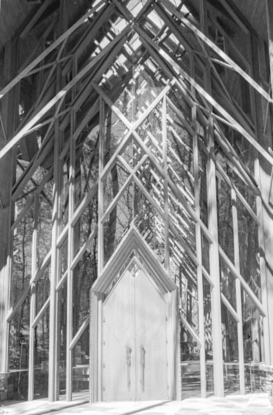 Anthony Chapel 1 is a digital art photograph created by Y. Hope Osborn