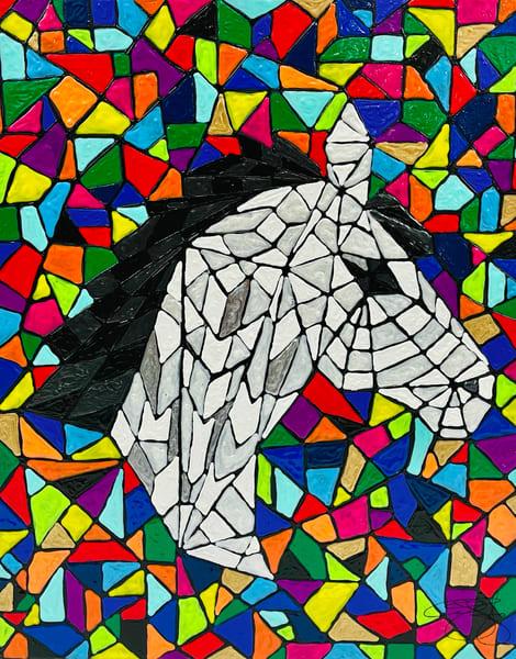 Horse Mosaic Art | Anthony Joseph Art Gallery