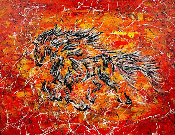 Inferno Art   Anthony Joseph Art Gallery
