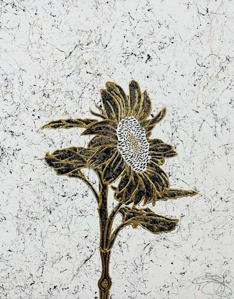 Luxe Flower Art   Anthony Joseph Art Gallery