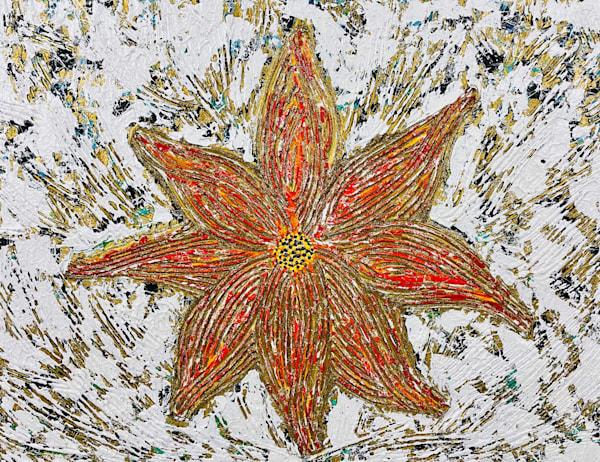 Fire Flower Art | Anthony Joseph Art Gallery
