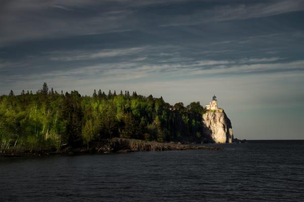 Split Rock Lighthouse Wide View Art   davinart