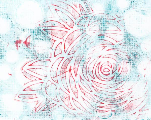 Soft Rose Art   Jennifer Akkermans