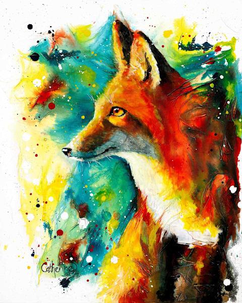 Ink Series Fox III
