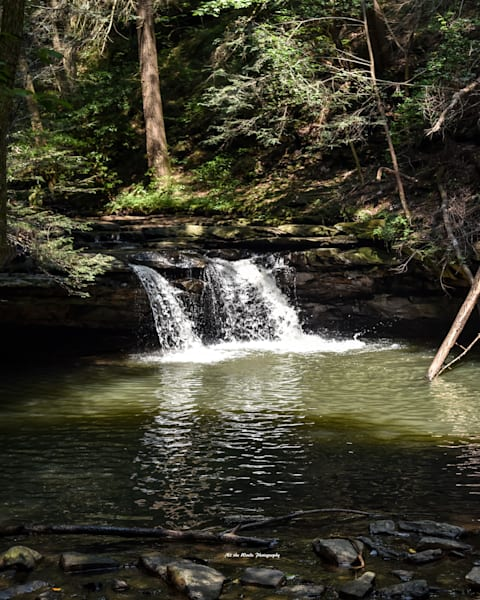Blue Hole Falls   Fiery Gizzard Photography Art | N2 the Woods Photography - Nature and Wildlife Artwork