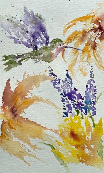 Hummingbird Helper Art   Color Splash Ranch