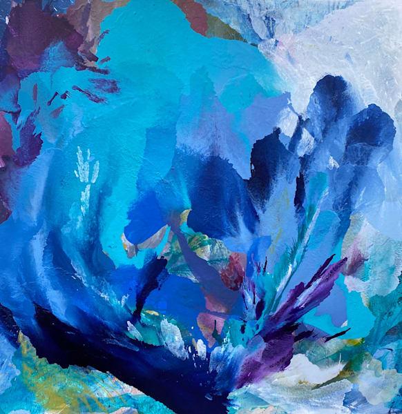 Blue Star Art | Usha Shukla Art