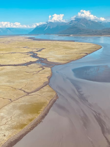 Cook Inlet Afternoon Photography Art   Visionary Adventures, LLC