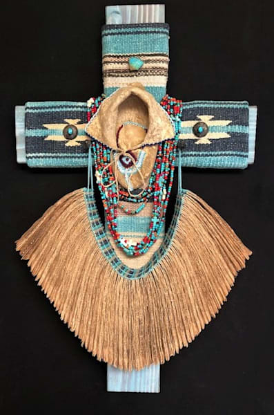 Sold   Walk A Mile In My Moccasins  Art | Sacred Structures
