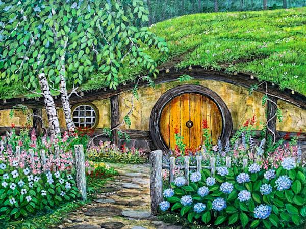 Hobbit House 1 Art | Skip Marsh Art
