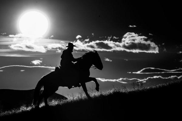 Cowboy Sun Photography Art | nancyney