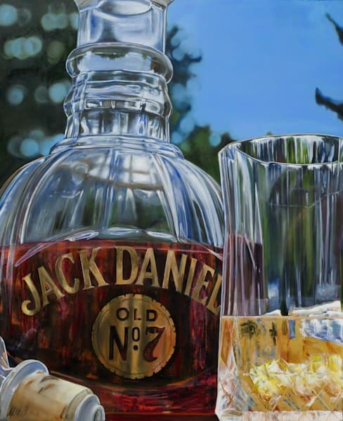 Jack Daniels Whisky | Original Mixed Media  Art | MMG Art Studio | Fine Art Colorado Gallery