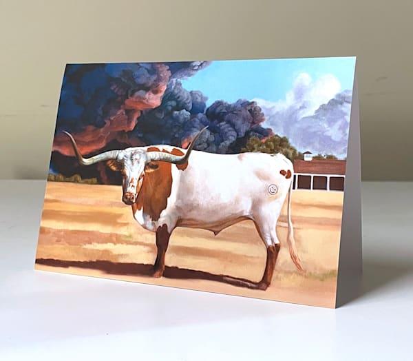 Smiley Bull Greeting Card | Kym Day Studio