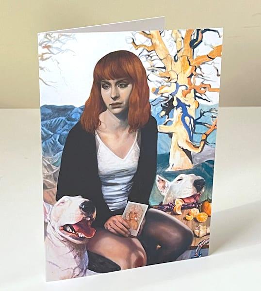 Jolene Greeting Card | Kym Day Studio