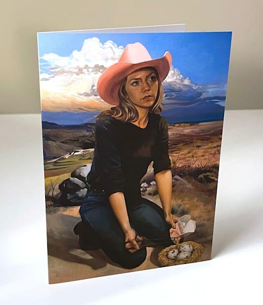 Lo Mein Western Greeting Card B | Kym Day Studio