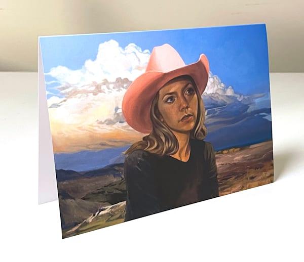 Lo Mein Western Greeting Card A | Kym Day Studio