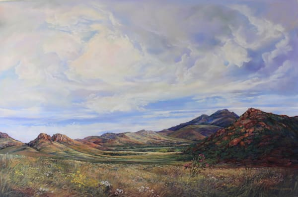 Lindy Cook Severns Art | Open Range, original pastel