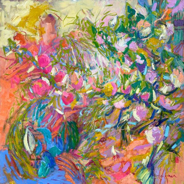 Passion Fruit  Art   Dorothy Fagan Joy's Garden