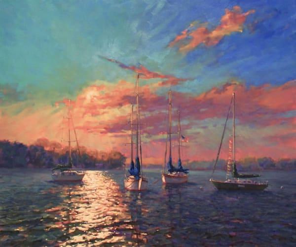 Morning Mooring 2 Art | Mid-AtlanticArtists.com