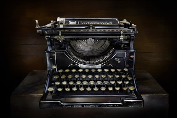 Vintage Typewriter Photography Art | Ralph Palumbo
