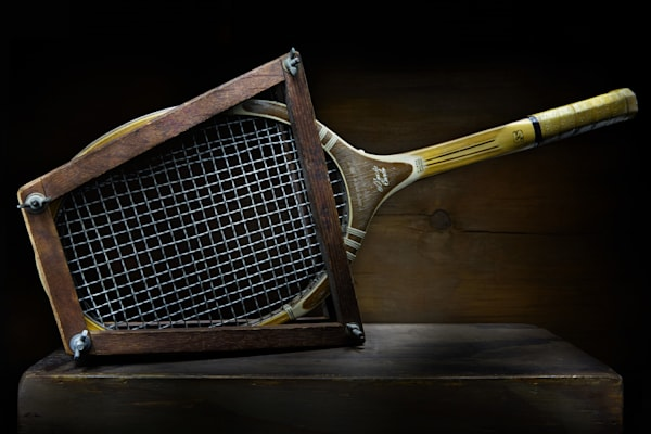 Vintage Tennis Racquet Photography Art | Ralph Palumbo