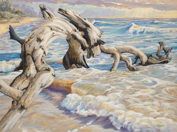Surf Dragon Lrg Art | gordonmeggison