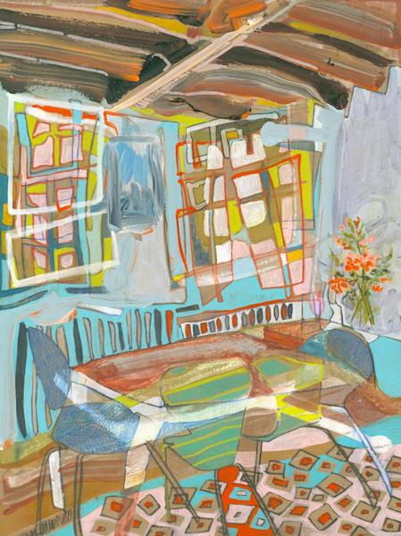 .The Georgian House No. 101 | Erika Stearly, American Artist