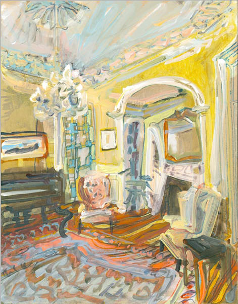 .26 S. Battery Street, No. 202 Art   Erika Stearly, American Artist