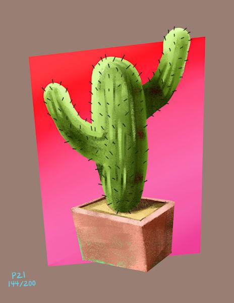 T U Cactus Art   Matt Pierson Artworks