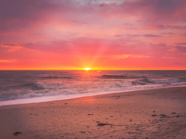 Vilano Beach Sunrise   Susan J Photography