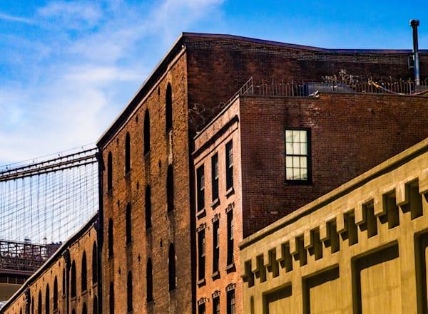 Dumbo In Sunlight, Brooklyn Photography Art   Ben Asen Photography