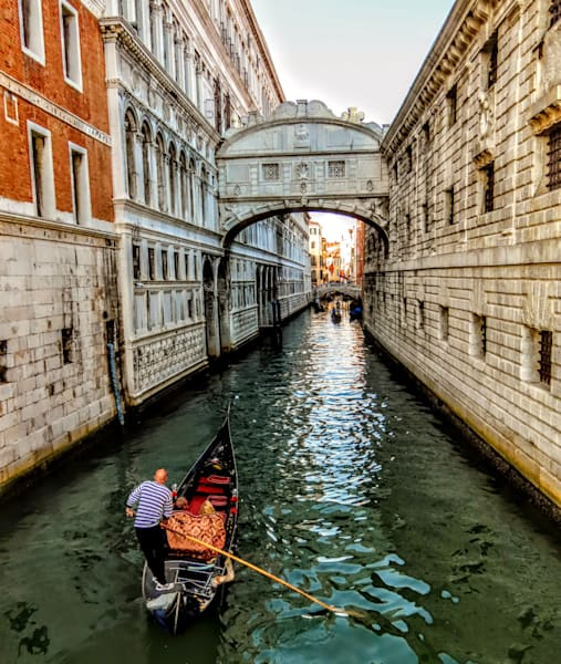 Bridge Of Sighs Gondola Ride Photography Art   Photoissimo - Fine Art Photography