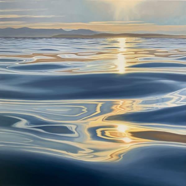 Open Bay Sunset Art | Friday Harbor Atelier
