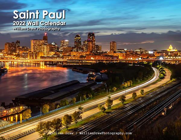 2022 Saint Paul Wall Calendar | William Drew Photography
