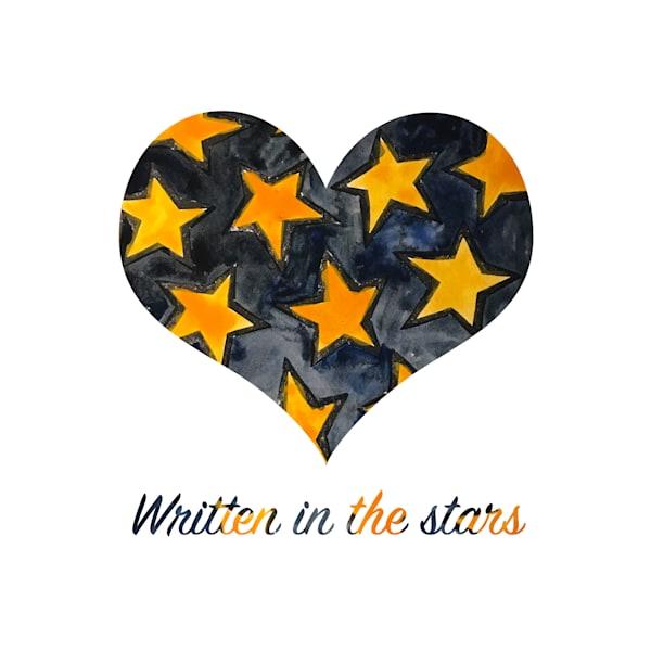 Written In The Stars Art   Jennifer Akkermans