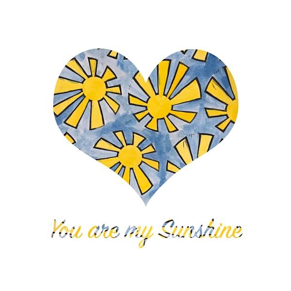You Are My Sunshine Art   Jennifer Akkermans