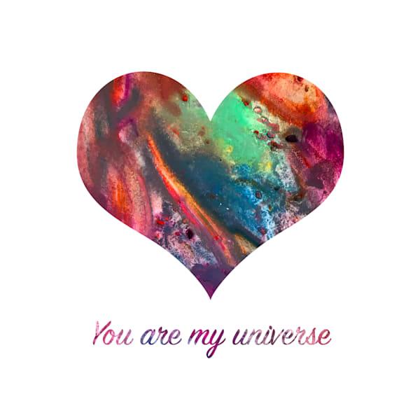 You Are My Universe Art | Jennifer Akkermans