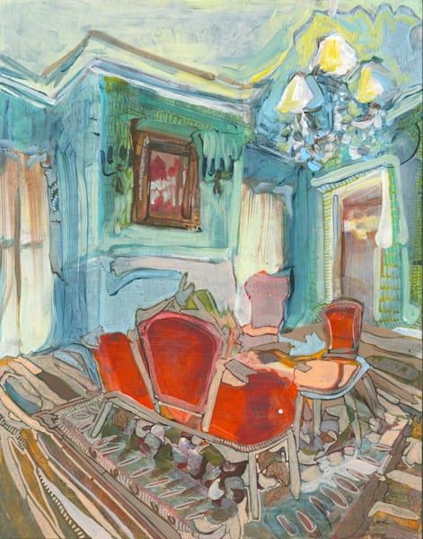 The Cartwright House No. 201 Art   Erika Stearly, American Artist