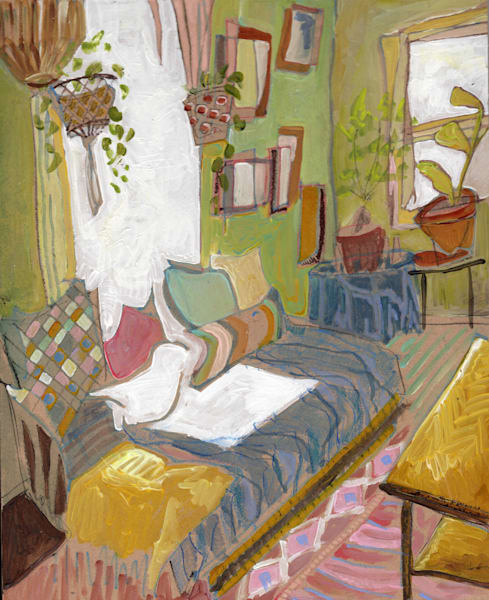 Erika's Home In Silver Springs No. 101 | Erika Stearly, American Artist
