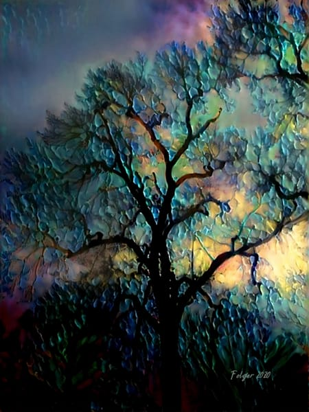 Painted Tree Of Life Art | Jacob Folger Artist