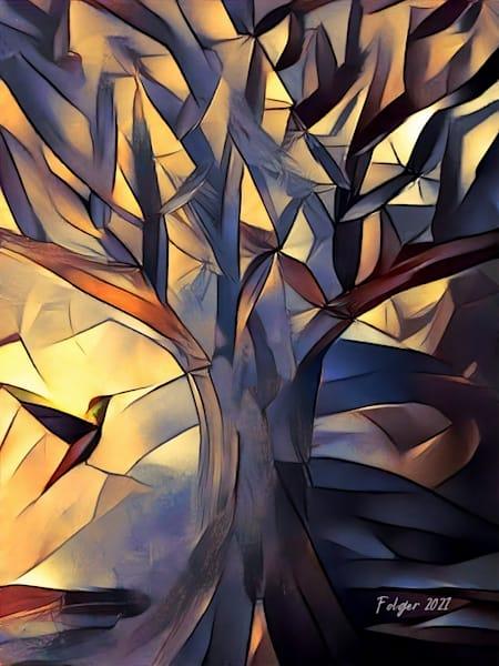The Tree And The Hummingbird  Art | Jacob Folger Artist