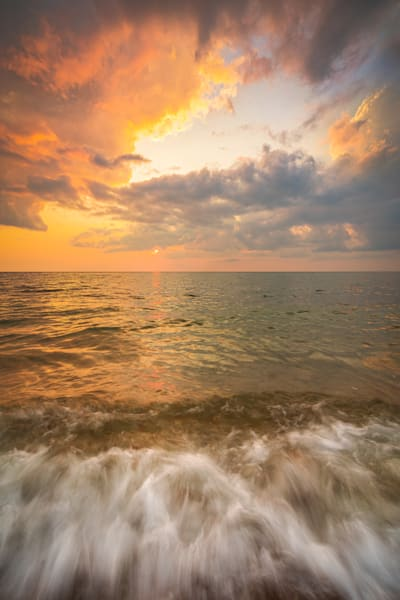 Soundview Dunes Sunset Photography Art | Teaga Photo